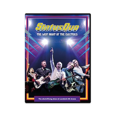 Status Quo The Last Night Of The Electrics DVD