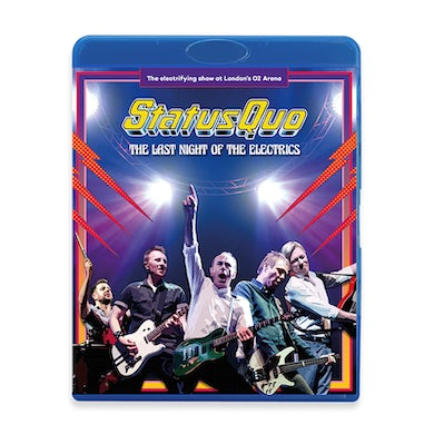 Status Quo The Last Night Of The Electrics Blu-ray