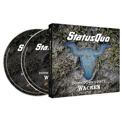 Status Quo Down Down & Dirty At Wacken CD/DVD CD/DVD