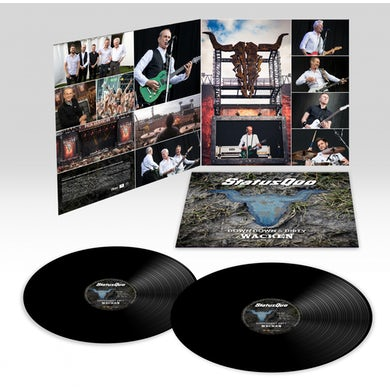 Status Quo Down Down & Dirty At Wacken Double Heavyweight LP