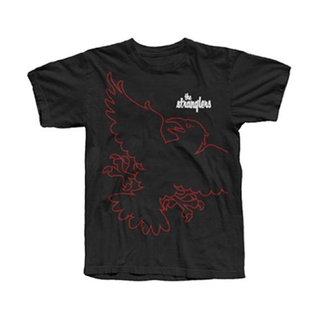 Stranglers Black Wraparound Raven T-Shirt