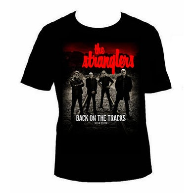 The Stranglers Back On The Tracks Photo T-Shirt (with Dates)