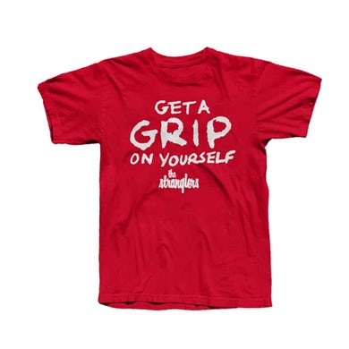 The Stranglers Red Get A Grip T-Shirt
