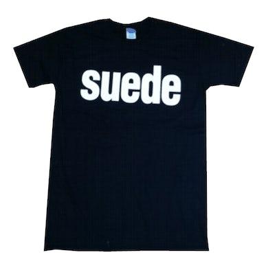 Mens Suede Logo T-Shirt