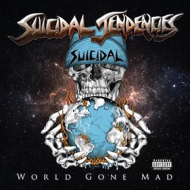 Suicidal Tendencies World Gone Mad Blue (Ltd Edition) Double Heavyweight LP (Vinyl)