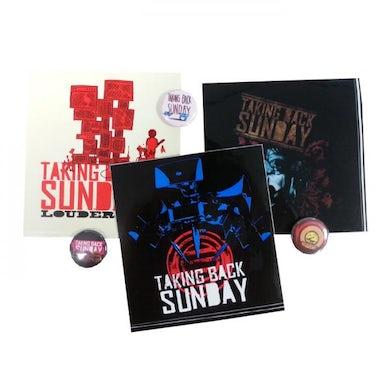 Taking Back Sunday Sticker & Badge Set