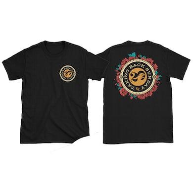 Taking Back Sunday Black Roses T-Shirt