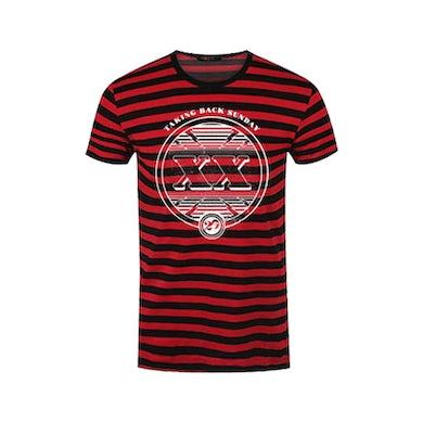 Taking Back Sunday Black/Red XX T-Shirt