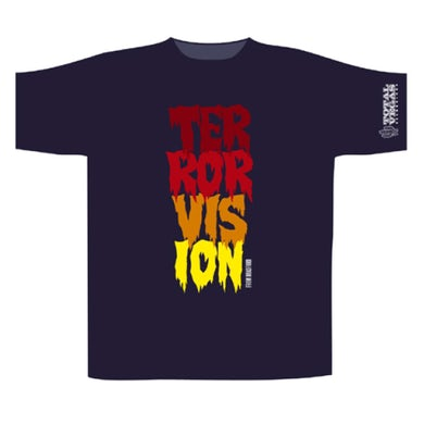 Terrorvision Vertical Logo T-Shirt
