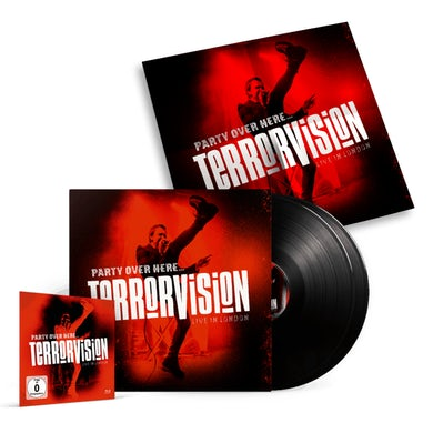 Terrorvision Party Over Here... Live In London (Inc Blu-Ray) Double Heavyweight LP
