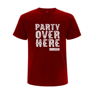 Party Over Here... Live In London T-Shirt 3