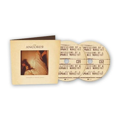 Anchoress CONFESSIONS OF A ROMANCE NOVELIST 2CD Deluxe CD