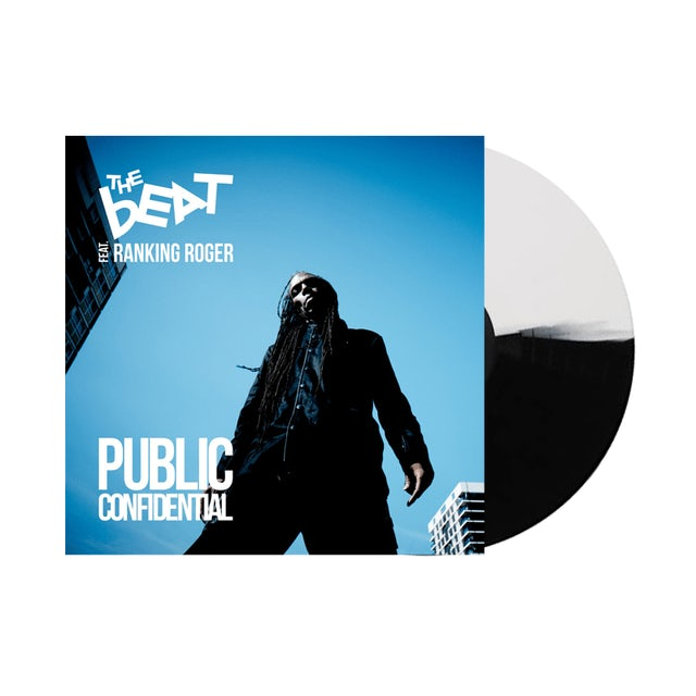 The Beat Public Confidential Black & White Heavyweight LP (Vinyl)