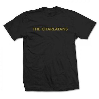 The Charlatans Logo Black T-Shirt