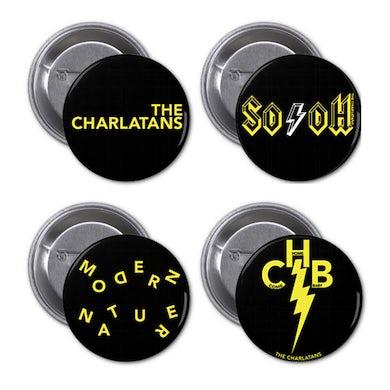 The Charlatans 2015 Badge Set