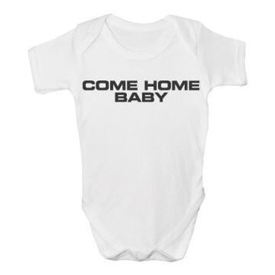 The Charlatans Come Home Baby Baby Printed Vest
