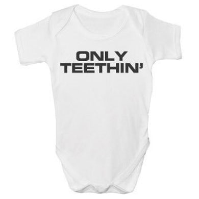 The Charlatans Only Teethin' Baby Printed Vest
