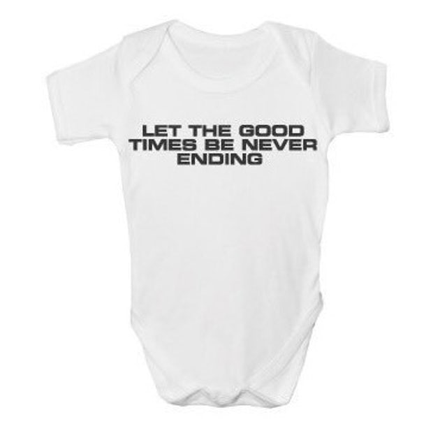 The Charlatans Let The Good Times Be Never Ending  Baby Printed Vest