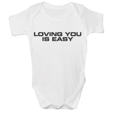 The Charlatans Loving You Is Easy  Baby Printed Vest