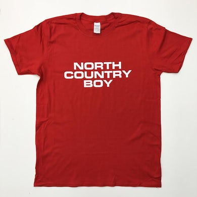 The Charlatans Red North Country Boy T-Shirt