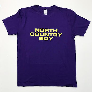 The Charlatans Purple North Country Boy T-Shirt