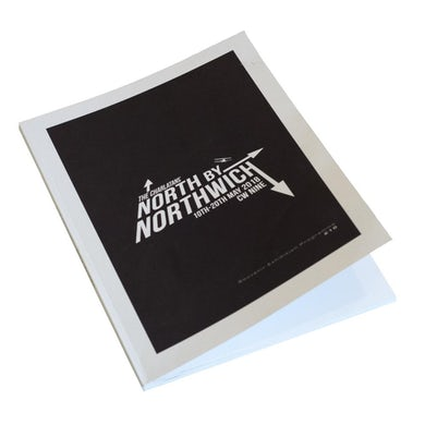 The Charlatans North By Northwich Programme
