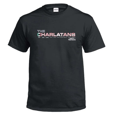 The Charlatans North American Tour T-Shirt