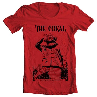The Coral Deep Sea Diver Red T-Shirt