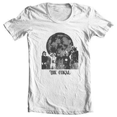 The Coral Globe T-Shirt White