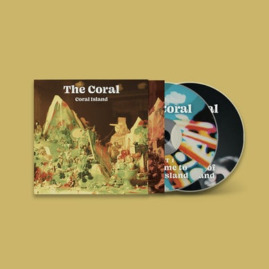 The Coral Coral Island Double CD CD
