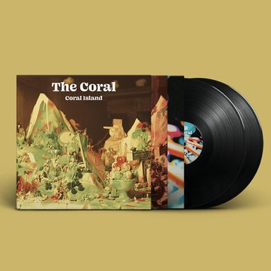 The Coral Coral Island Double Heavyweight Black Vinyl Double Heavyweight Vinyl