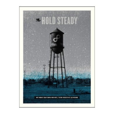 The Hold Steady Stay Positive Poster