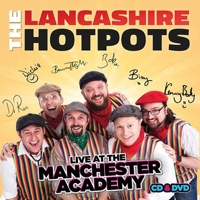 The Lancashire Hotpots Live At Manchester Academy CD/DVD