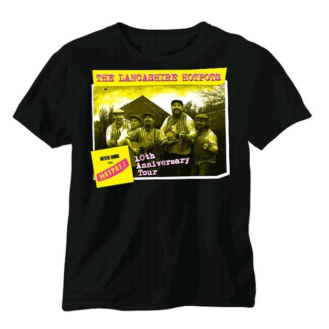 The Lancashire Hotpots Never Mind The Hotpots Tour T-Shirt