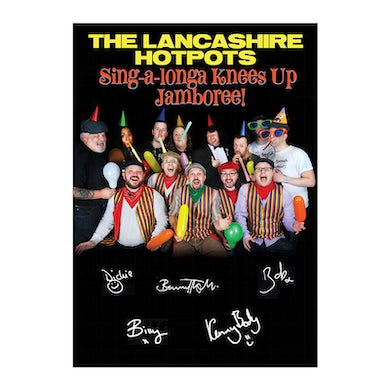 The Lancashire Hotpots Signed A4 Artwork