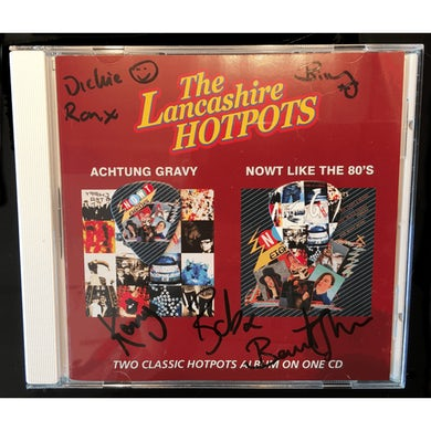 The Lancashire Hotpots Achtung Gravy & NOWT Like The 80s + Limited Edition Plectrums CD