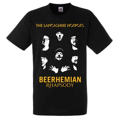 The Lancashire Hotpots Beerhemian Rhapsody T-Shirt