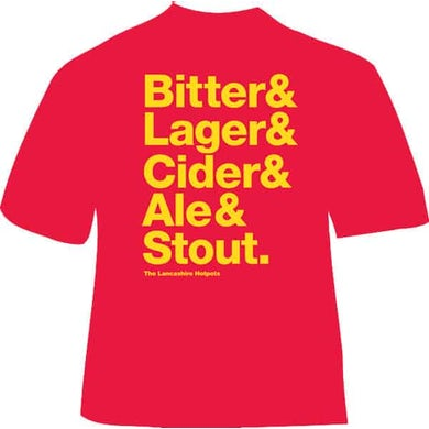 Bitter Lager Cider Ale Stout T-Shirt