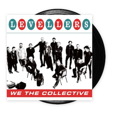 The Levellers We The Collective Black LP (Vinyl)
