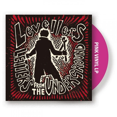 The Levellers Letters From The Underground Pink LP (Vinyl)