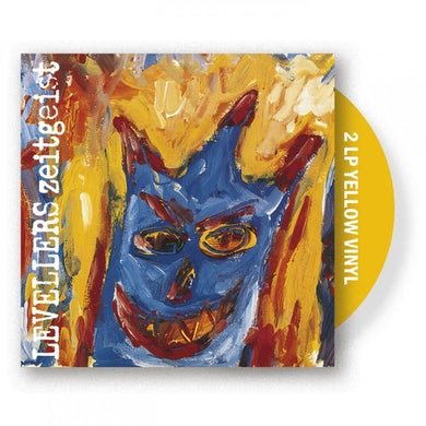 The Levellers Zeitgeist Yellow Double LP (Vinyl)