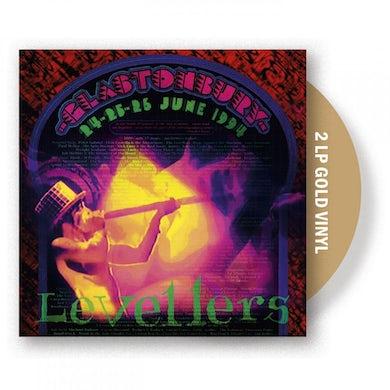 The Levellers Glastonbury 94 Gold Double LP (Vinyl)