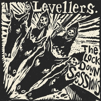 The Levellers Screen print 12x12 print, Signed / Numbered