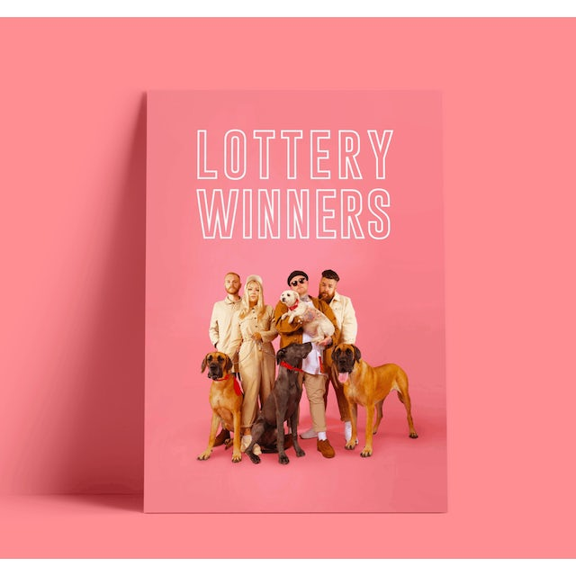 The Lottery Winners A3 Poster