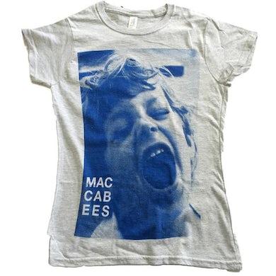 The Maccabees Men's Grey and Navy Felix T-shirt