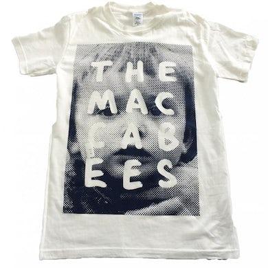 The Maccabees Men's White and Navy Sam T-shirt