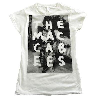 The Maccabees Women's White and black Hugo T-shirt