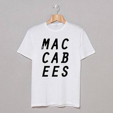 The Maccabees 2014 White T-Shirt