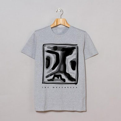 The Maccabees Square Grey T-Shirt
