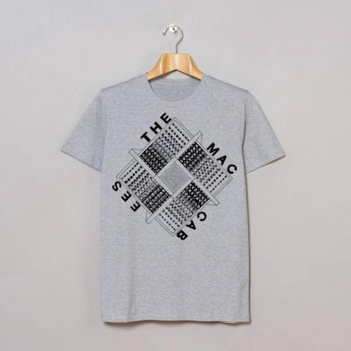 The Maccabees Grey Square T-Shirt